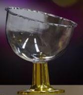 Taça Inclinada Luxo