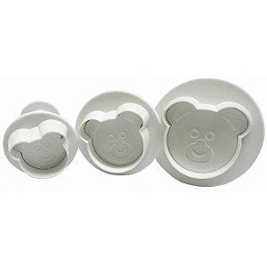 Ejetor Urso Kit com 3 peças