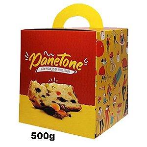 Embalagem - Caixa Panetone 500g - Tam. 134x95
