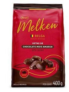 Chocolate Belga Meio Amargo 52%  Melken  400g