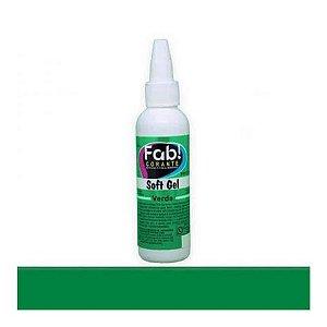 Corante Soft Gel Verde 25 g FAB