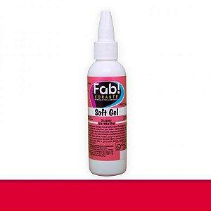 Corante Soft Gel Super Vermelho 25 g FAB