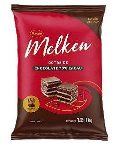 Chocolate 70% Melken em Gotas 1,050KG