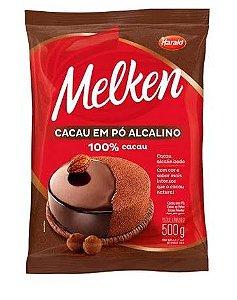 Cacau 100% em Pó Melken Harald 500 g