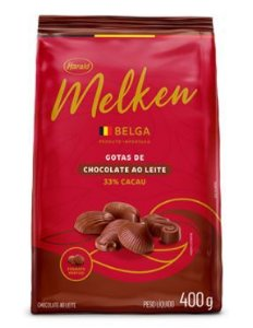 Chocolate Belga Ao Leite Melken 400g