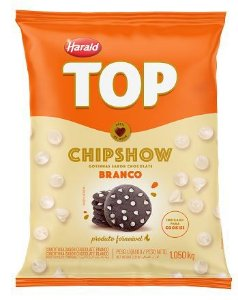 Chips Forneáveis Harald ChipShow Branco 1,05Kg