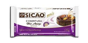 Cobertura Meio Amargo Sicao Mais Barra 1,05 Kg