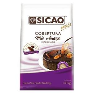Cobertura Meio Amargo Sicao Mais Gotas 1,05 Kg