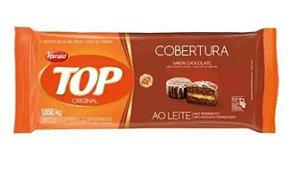COBERTURA TOP HARALD AO LEITE BARRA 1,050KG