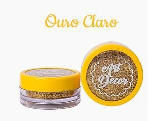 Glitter Art Decor Ouro Claro 5 g