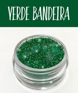 Glitter Art Decor Verde Bandeira 5 g