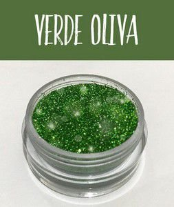 Glitter Art Decor Verde Oliva 5 g