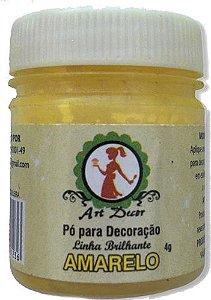 Pó p/ Decoração Amarelo 4g Art Decor