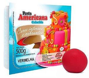 Pasta Americana Arcolor 500 g Vermelha