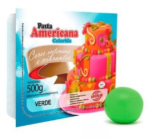 Pasta Americana Arcolor 500 g Verde