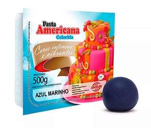 Pasta Americana Arcolor 500 g Azul Marinho