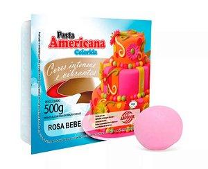 Pasta Americana Arcolor 500 g Rosa Bebe