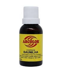 ESSENCIA ALIMENTICIA BAUNILHA 30ML ARCOLOR