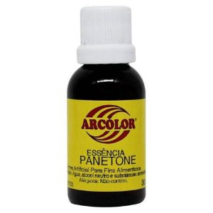 ESSENCIA ALIMENTICIA PANETONE 30ML ARCOLOR