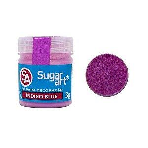 Pó p/ Decoração Sugar Art Indigo Blue 3 g
