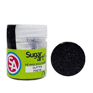 Glitter Sugar Glitter PRETO 5G