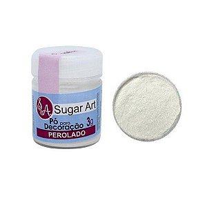 Pó p/ Decoração Sugar Art Perolado 3 g