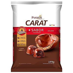COBERTURA CARAT AO LEITE 2,01 KG PURATOS EM GOTAS