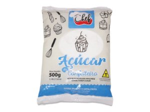 ACUCAR DE CONFEITEIRO 500 G ICEBERG