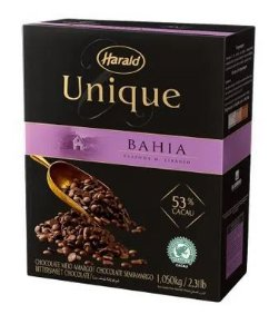 Chocolate Unique Meio amargo 53% Cacao Gotas 1,05 Kg
