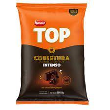 COBERTURA DE CHOCOLATE INTENSO GOTAS 1,050KG  TOP HARALD