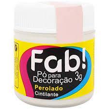 Pó p/ Decoração FAB Perolado 3g