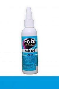 Corante Soft Gel Azul 25 g FAB