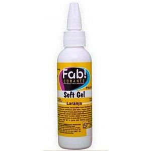 Corante Soft Gel Laranja 60 g FAB