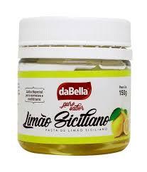 Pasta Saborizante Limão Siciliano Dabella 150 g