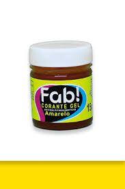 Corante Gel Amarelo FAB 15 g
