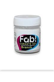 Corante Gel Branco FAB 15 g