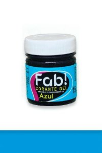 Corante Gel Azul FAB 15 g