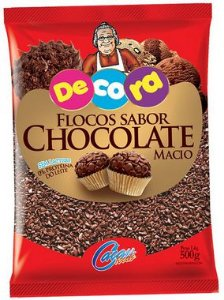 FLOCOS MACIOS SABOR CHOCOLATE 500g