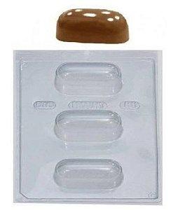 Forma de acetato especial trufa alongada