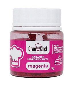 Corante Gran Chef Magenta Lipossoluvel 5 g