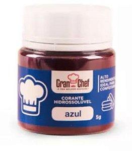 CORANTE GRAN CHEF AZUL HIDROSSOLUVEL 5G
