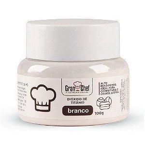Corante Gran Chef Branco Dióxido de Titanio 100 g