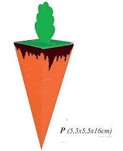 Caixa Cone Cenoura P Classic pct c/ 10