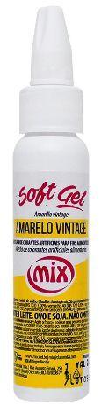 Corante Softgel Amarelo Vintage 25 g Mix