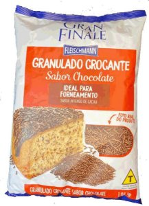 Granulado Crocante Chocolate Fleischmann 1.05KG