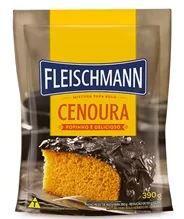 Mistura para Bolo de Cenoura 390g Fleischmann