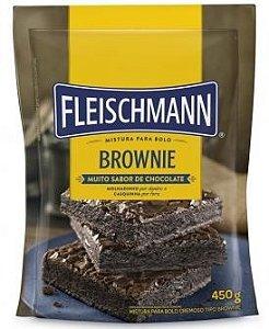 Mistura para Bolo Brownie 450G Fleischmann