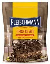 Mistura para Bolo Chocolate 390G Fleischmann