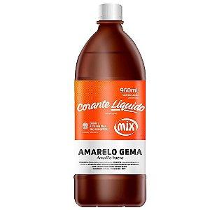 CORANTE LIQUIDO 960ML AMARELO GEMA MIX