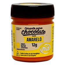 CORANTE P/ CHOCOLATE 12G AMARELO MIX